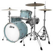 Ludwig Neusonic 3pc Shell Pack With 20 Bass Drum In Skyline Blue L3l24023tx3r