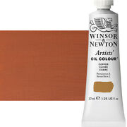 Winsor And Newton Artists' Oil Color 37 Ml Tube - Copper