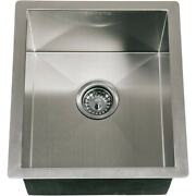 Coyote 16 X 18 Outdoor Rated Drop In Stainless Steel Sink With Drain Plug