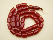 Old Real Antique Rare German Bakelite Amber Necklace Rosary Prayer Beads 41 Gr.