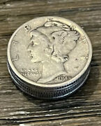 [lot Of 5] Mercury Dimes 1916-1945 90 Silver Choose How Many Lots Of 5 Coins