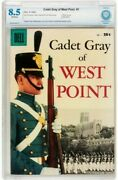 1958 Cadet Gray Of West Point 1 Dell Giant Comics Cbcs 8.5 Vf+ Rare War