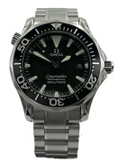 Omega Seamaster Diver Midsize 2262.50.00 Stainless Steel W/ Box Book And Card