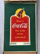 Orig 1930s Coca Cola Painted Wall And Bulletin Designs Book Sign Painter Rare