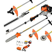 5 In 1 Tree Trimmer Pole Saw Chainsaw Pruner Branch Cutter For Garden Lawn