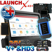 Launch X431 V+ And 24v Truck / Car All System Diagnostic Tool Key Program 2021 New