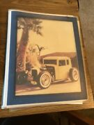 Vintage Photo Scrapbook Lot Old Cars Rods Coupes And More 20+ Pics And Clippings