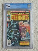 Eternals 1 1976 Cgc 9.6 Wp - Origin And First Appearance Of The Eternals - Mcu