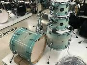 Mapex Armory Ultra Marine Maple/birch 4pc Custom Shell Pack Exclusive Short Sta