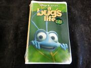 Vhs - A Bugand039s Life - Includes Geriand039s Game And Tarzan Preview - New Sealed