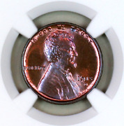 1915-d Ms65 Rb Ngc Lincoln Wheat Penny Registry Quality Collection