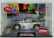 Disney Cars Disney Store Exclusive Silver Hot Rod Mcqueen Chase