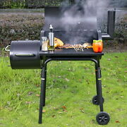 Large Grill Outdoor Bbq Grills Charcoal Professional Backyard Xl Cooker Smoker