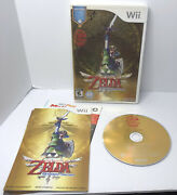 The Legend Of Zelda Skyward Sword Nintendo Wii No Game Cd And Manual Only