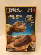 National Geographic Dinosaur Fossil Dig Kit Kids Figure Toy Educational 8y+ Set