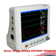 Vital Sign Patient Monitor High-resolution Color Screen Monitor 8inch Instrument