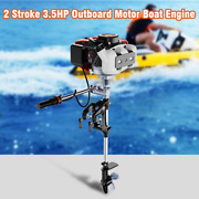 3.5hp Heavy Duty Outboard Motor Boat Engine W/air Cooling System+cdi Ignition
