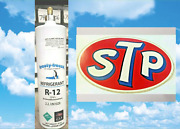 Refrigerant 12 R12 R-12 New 28 Oz. Includes On/off Valve Stp Tool Box Decal