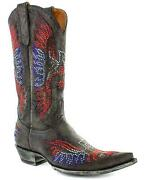 Old Gringo Womenand039s Eagle Crystals Western Boot - Snip Toe - L443-17t4l