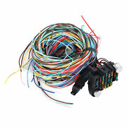 21 Circuit 17 Fuses Wiring Harness Set Long Wires Universal Accessories Fit For