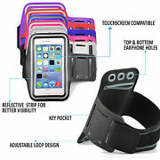Sports Training Armband Cover For Apple Samsung Key Pocket Sweat Resistant Gym
