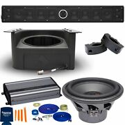 Powerbass 12 Speaker Utv Soundbar Package With Subwoofer And Install Accessories