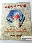 Stepping Stones-patterns For Easy To Make Stained Glass Stepping Stones, E-50