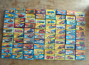Collection Of 80 Matchbox Carswith Display Boxed60`-80`sdifferent Series.