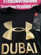 Under Armour Dubai Gold And Black Shirt Nwt Xxl Very Limited You Must Fly And Buy