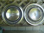 Vintage 1966 67 68 69 Lincoln Continental Premier Town Car Hubcaps Wheel Covers