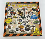 Magnetic Puzzle 'wheels At Work' Alphabet Puzzle Ages 4 And Up The Orb Factory