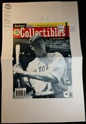 1/1 Joe Dimaggio Beckett Bsca Final Proof Cover 1 And 2 February 1999 Issue 94