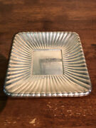 Reed And Barton Mid Century Sterling Silver Tray With Monogram