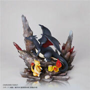 Winchesterandmonkey Charizard Family Limited Resin Statue Painted Model New Stock