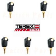 Terex Compact Track Loader And Skid Steer Ignition Key 2045-432 Caterpillar Cat