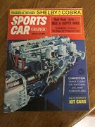 Sports Car Graphic Magazine Carroll Shelby 2nd Article Cobra Poster August 1962