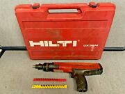 Hilti Dx36m Powder Actuated Fastening Tool Nail Gun With Case