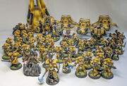 Space Marines Imperial Fists Army - Fully Painted - Warhammer 40000 40k