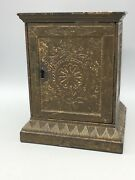 Geometric Safe Bank Manufactured By Stevens C. 1897 Rated E
