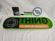 Element The Thing Rare Shovel Nose Featherlight Skateboard N.o.s W/ Stickers
