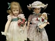 R John Wright Abigail And Genevieve 2008 Ufdc Region 14 Conference Dolls