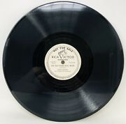 """Eddie Cantor Juke Box Annie - The Old Piano Roll Blues 10"""" 78 Victor Promo Bb21"""
