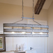 Luxury Modern Farmhouse Chandelier Large Size 17h X 38.5w With Rustic Style