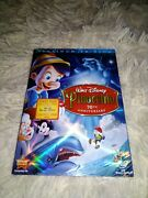 Pinocchio 70th Anniversary Platinum Edition Dvd - New/sealed With Slipcover