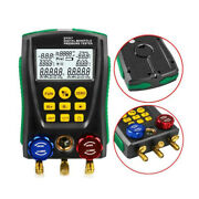 Manifold Gauge Meter Hvac Vacuum Tester And Pipe For Maintaining Air-conditioner