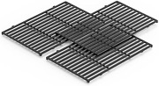 Cast Iron Cooking Grates Grid 3-pack For Weber Spirit 300 Wood Fire Pellet Grill
