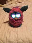 Furby Cotton Candy Pink And Teal Blue Tested And Working 2012 Hasbro