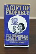 A Gift Of Prophecy By Ruth Montgomery 1968 Paperback Psychic Jeane Dixon Bio