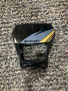 2000-2021 Drz400sm Front Number Plate Cowling Headlight Enclosure Black Cowling