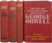 Collected Essays Journalism And Letters Of George Orwell / 1st Edition 1968